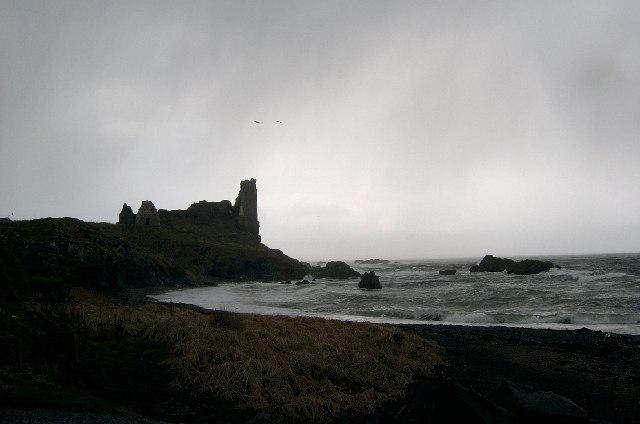 Dunure Castle, Ayrshire