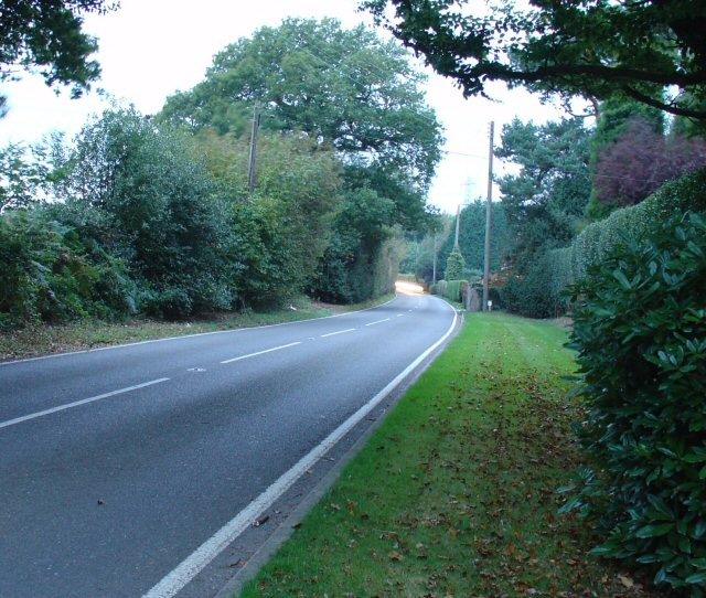 B2115 (Cuckfield Lane) West of Pitts Head Crossroads, West Sussex