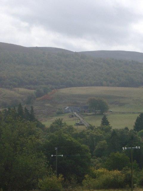 Tarfuack farm house and Torchuaig Hill from Kennacoil