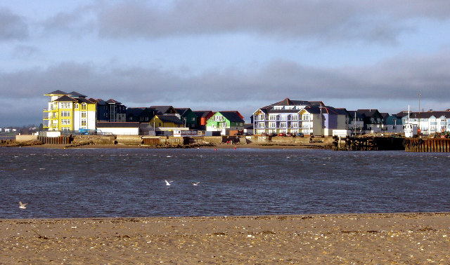 Marine apartments Exmouth, South Devon