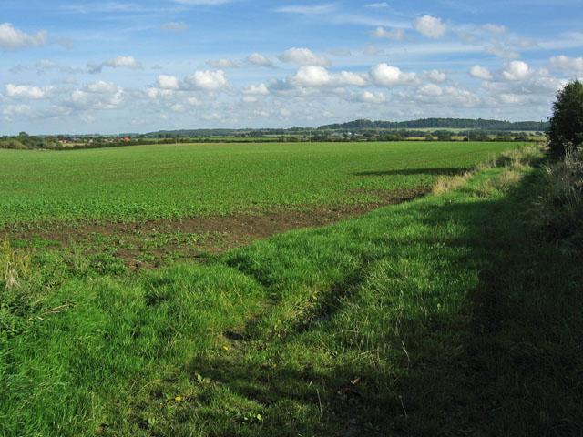 Farmland at Barkestone-le-Vale, Leicestershire