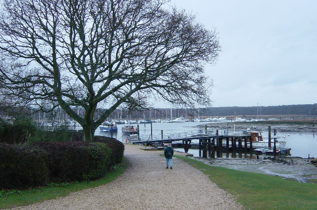 Marina, Beaulieu River, Bucklers Hard