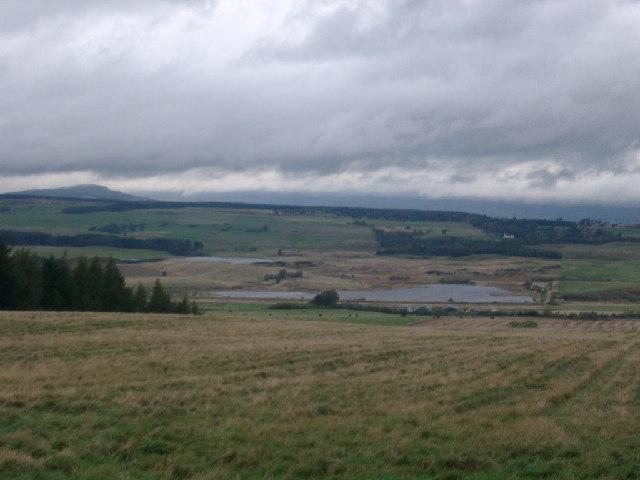 Carsebreck Loch & Upper Rhynd, near Braco