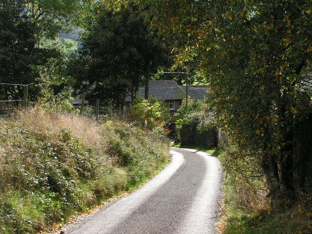 Lane near Eccles Pike