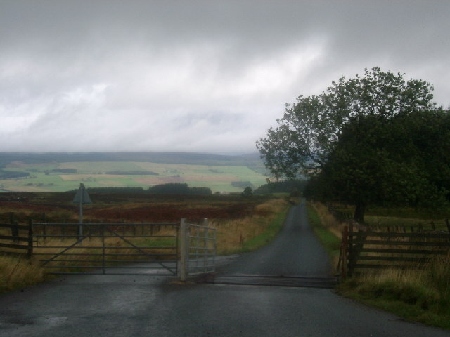 Road to Greenloaning from Sherrifmuir