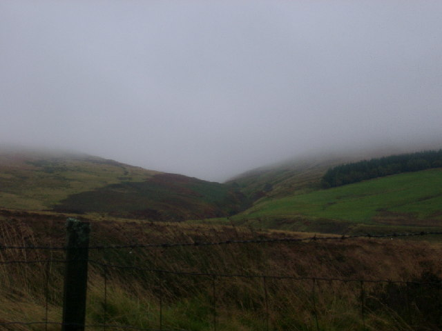 Up Glen Tye, Sherrifmuir