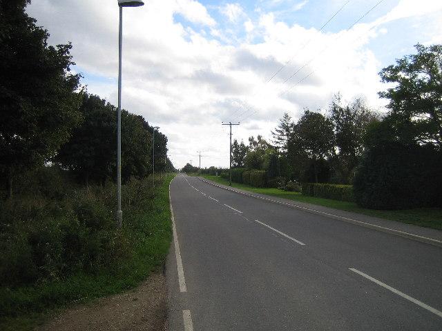 Ermine Street - Roman road near Navenby