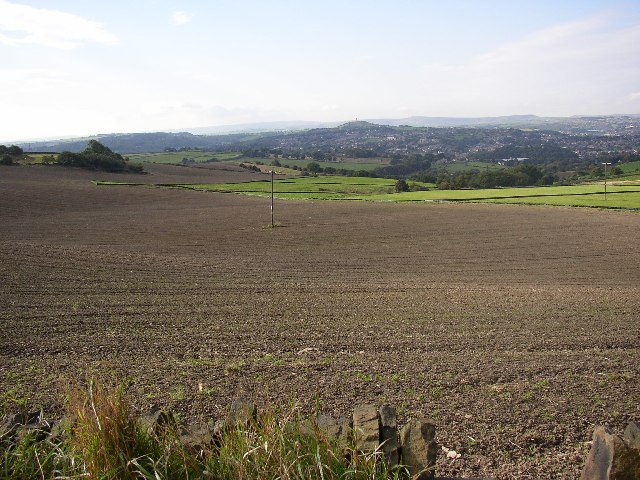 Ploughed field off Bellstring Lane, Kirkheaton
