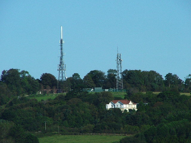 Television and Relay Masts, Hardwick Hill