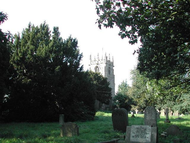Averham Church and Graveyard