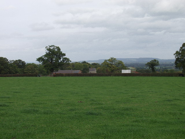 "Farm buildings at ""The Fields"" , Twining Hill"