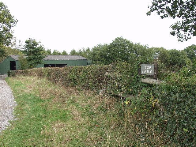 "Farm Buildings at ""Top Farm""  Erbistock"