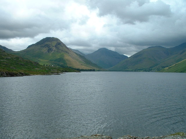Great Gable at the head of Wastwater