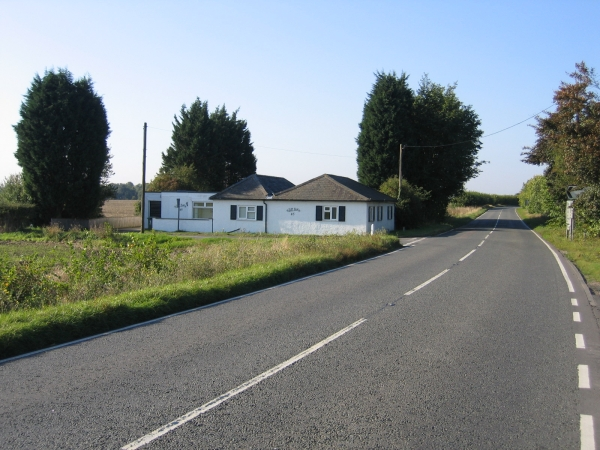 The old turnpike Toll Bar cottage, Croydon, Cambs