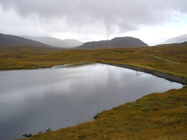 Reservoir in Ardverikie Forest