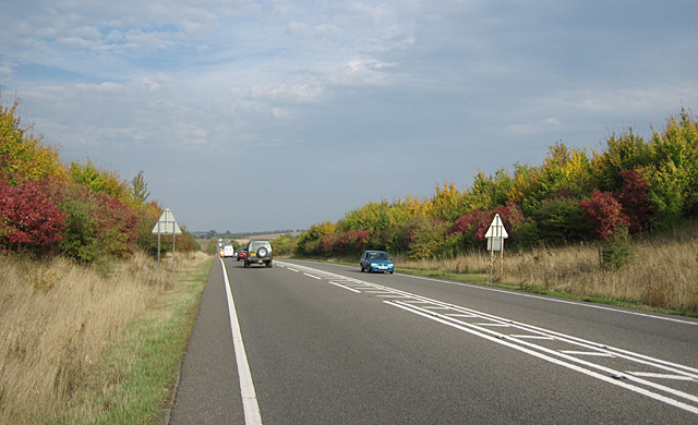 Autumn Colour on the Sedgeberrow Bypass