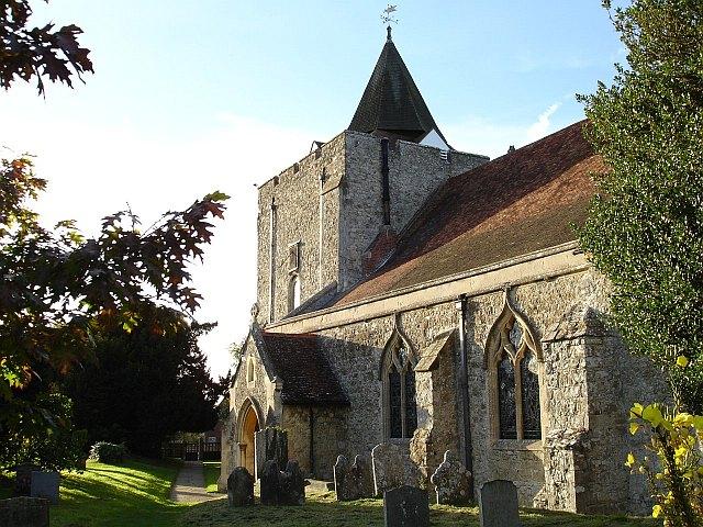 Church of St Nicholas, Leeds village