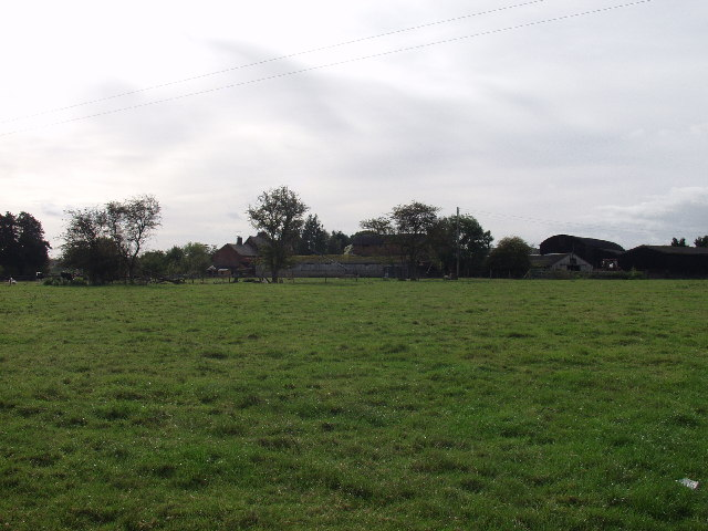 "Farm buildings at ""Manor Farm""  Eyton"