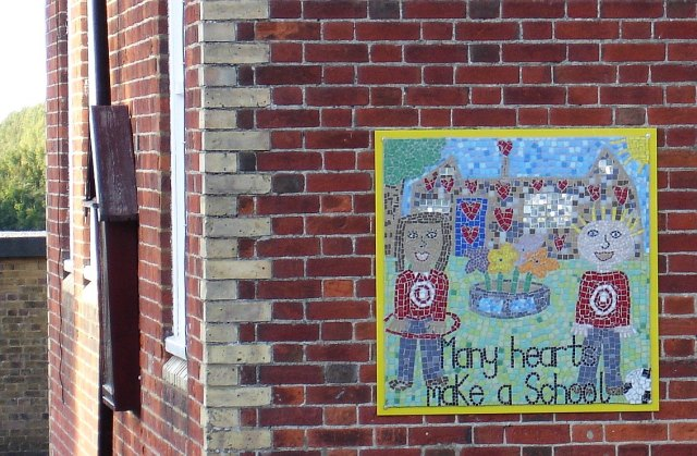 """Many Hearts Make a School"""