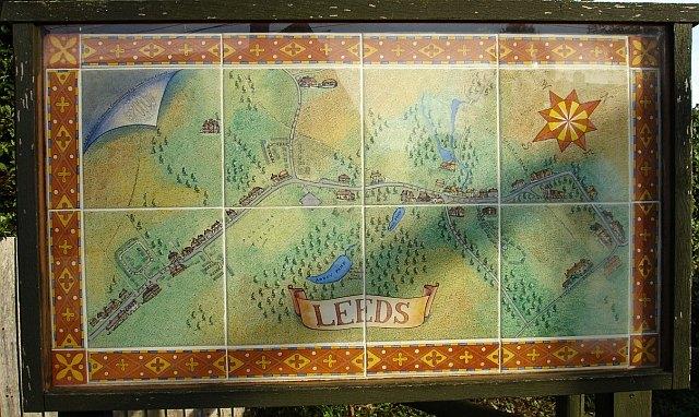 Leeds Village Sign