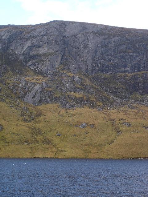 Binnein Shuas across Lochan na h-Earba