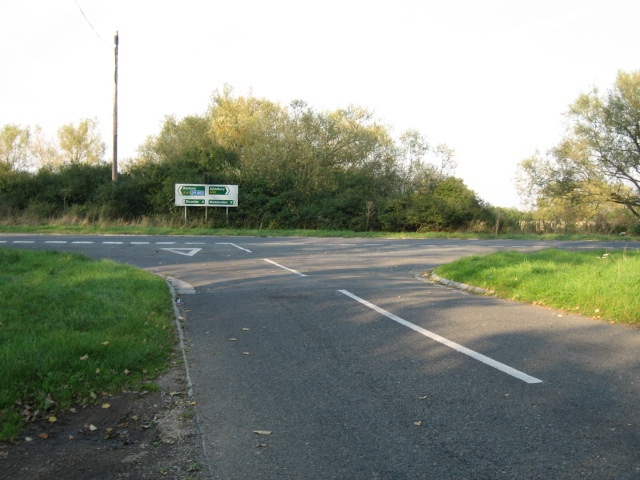 Junction with A41 looking north
