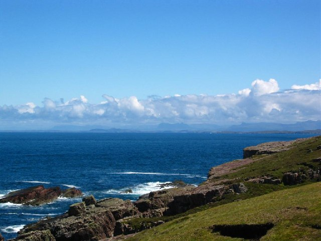 Near Rubha Reidh Lighthouse