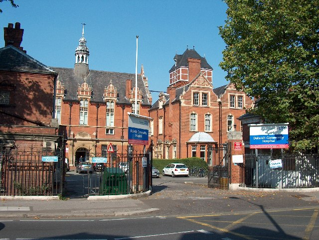 Dulwich Community Hospital, East Dulwich Grove (A2214)