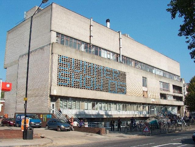 Camberwell College of Arts, Peckham Road.