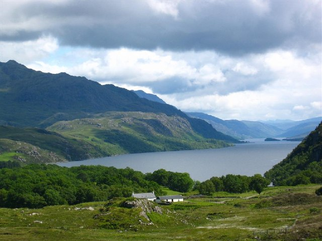 Tollie Farm by Loch Maree