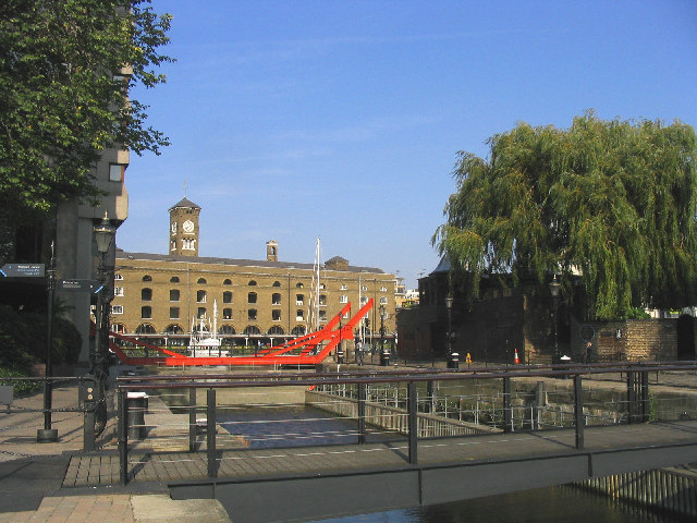 The Lock, St. Katharine Docks, London