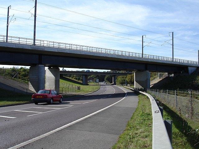 Bridges over the A20