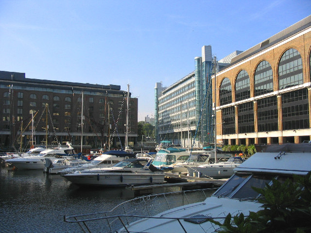 Upper Basin, St. Katharine Docks, London