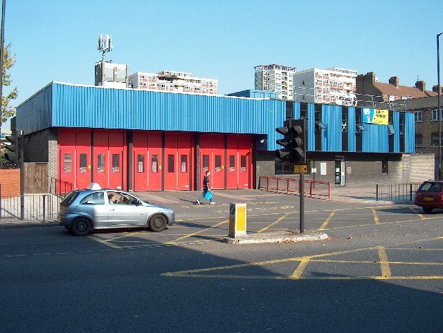 Fire Station, Old Kent Road (A2)