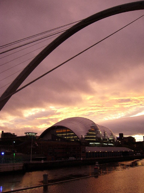 Millennium Bridge and Sage Music Centre