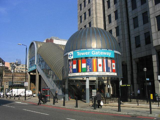 Tower Gateway Station, London