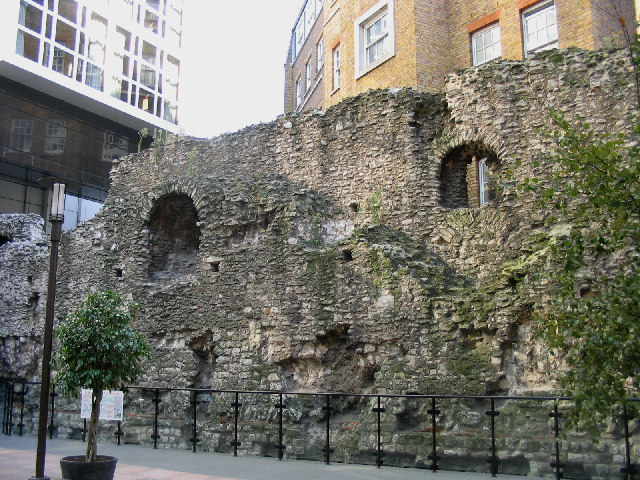 Roman Wall, City of London