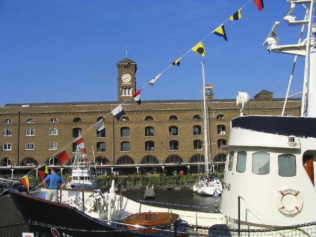 St. Katharine Docks, London