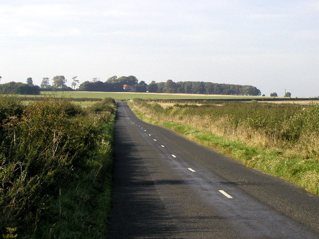 Looking towards High Hunsley