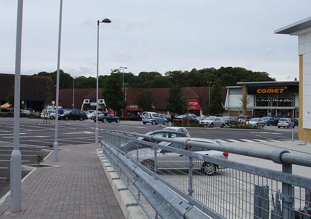 Quarry Wood retail park