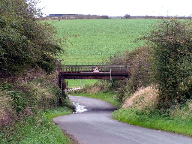 Railway Bridge, Oughterside