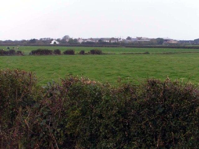 Across the fields to Mawbray