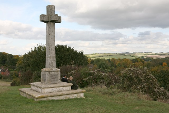 War memorial on Shawford Down