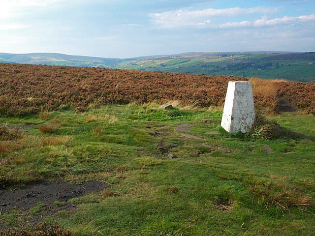 Trig point, Penistone Hill