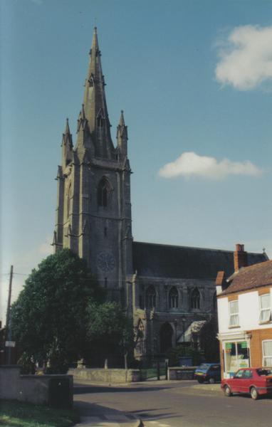 Parish church, Heckington, Lincs