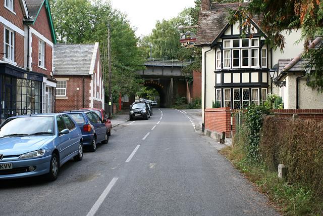 Shawford Village looking W