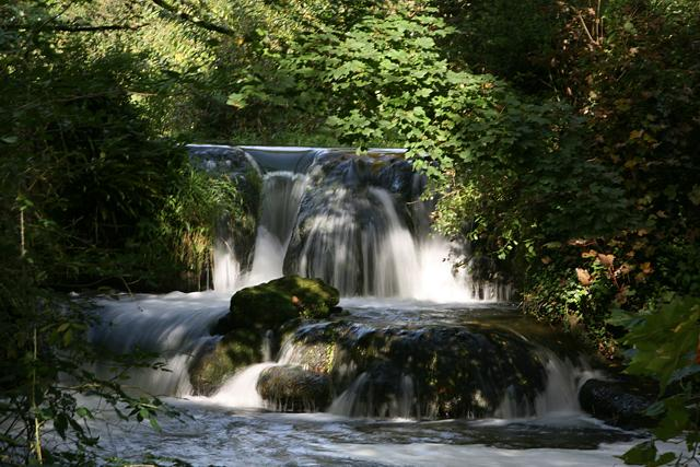 Waterfall on Itchen Navigation
