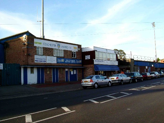Colchester United's Layer Rd Ground