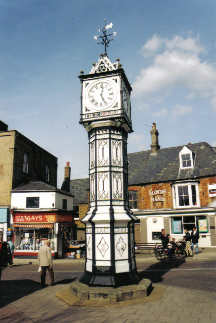 Victorian Clock Tower, Downham Market, Norfolk