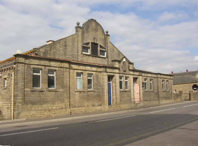 Brighouse Swimming Baths, Mill Royd Street